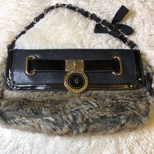 Nine West Faux Fur Small handbag